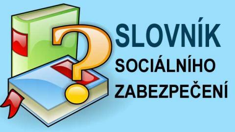 Slovník Ministerstva práce a sociálních věcí MPSV