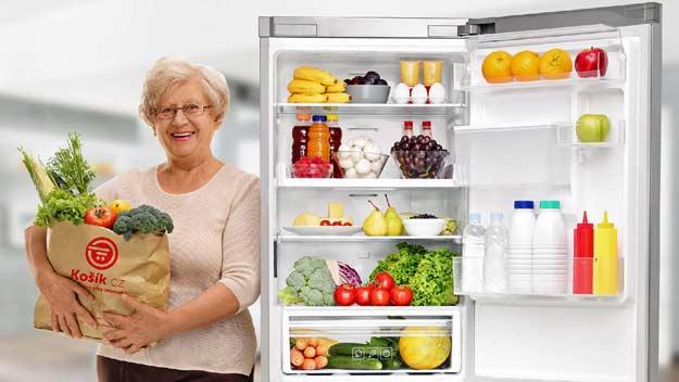 Dotované potraviny pro seniory a hendikepované s dopravou zdarma