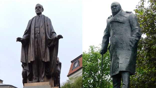 Tajemný přesun soch na Velikonočním ostrově se děje také v Praze