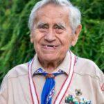 Jiří Světlík vyznamenán ve věku 96 let nejvyšším skautským vyznamenáním