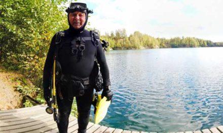 Nejstarší aktivní potápěč