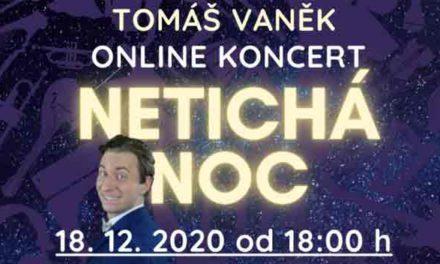 Tomáš Vaněk zpívá zdarma pro lidi v domovech seniorů, dětských domovech a nemocnicích