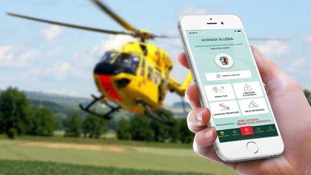 Aplikace Záchranka. Kniha túr pomůže k rychlejší záchraně