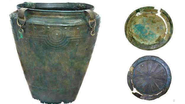 Nejstarší prosné pivo s přídavkem bylin se ukrývalo ve vědru z doby bronzové